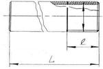 Чертеж и размерный ряд ниппеля приварного (полусгона) AISI 304/316